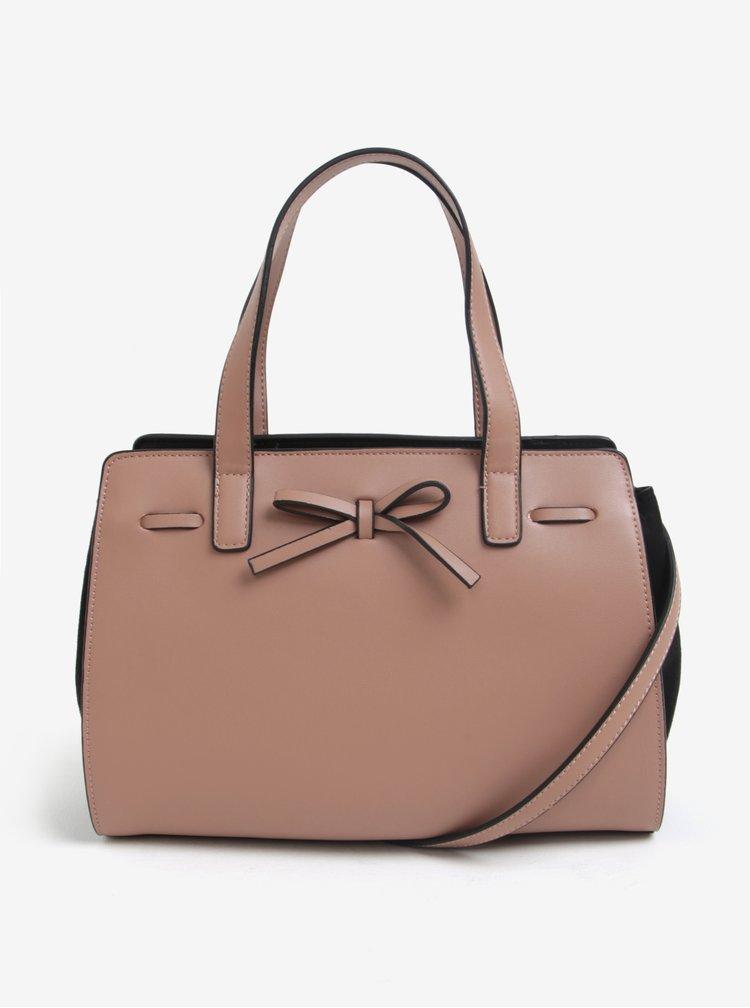 Starorůžová kabelka s mašlí Dorothy Perkins