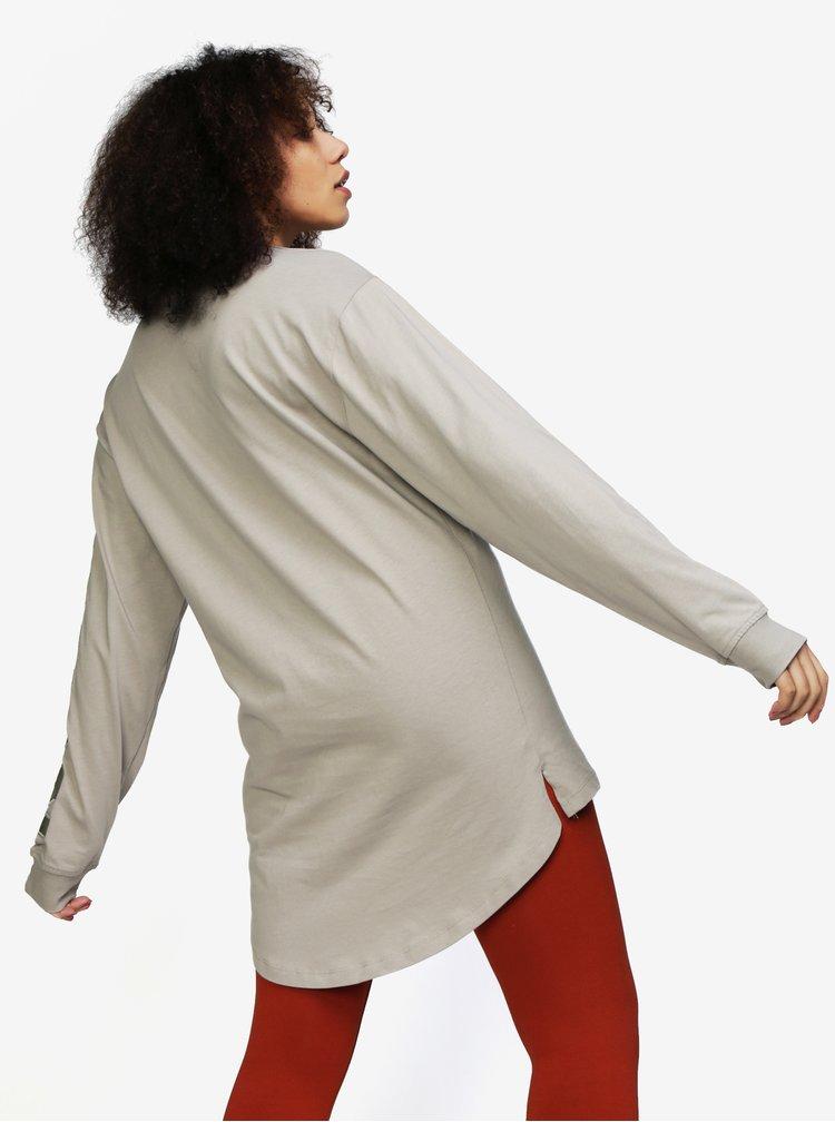 Béžové tričko s dlouhým rukávem Ivy Park