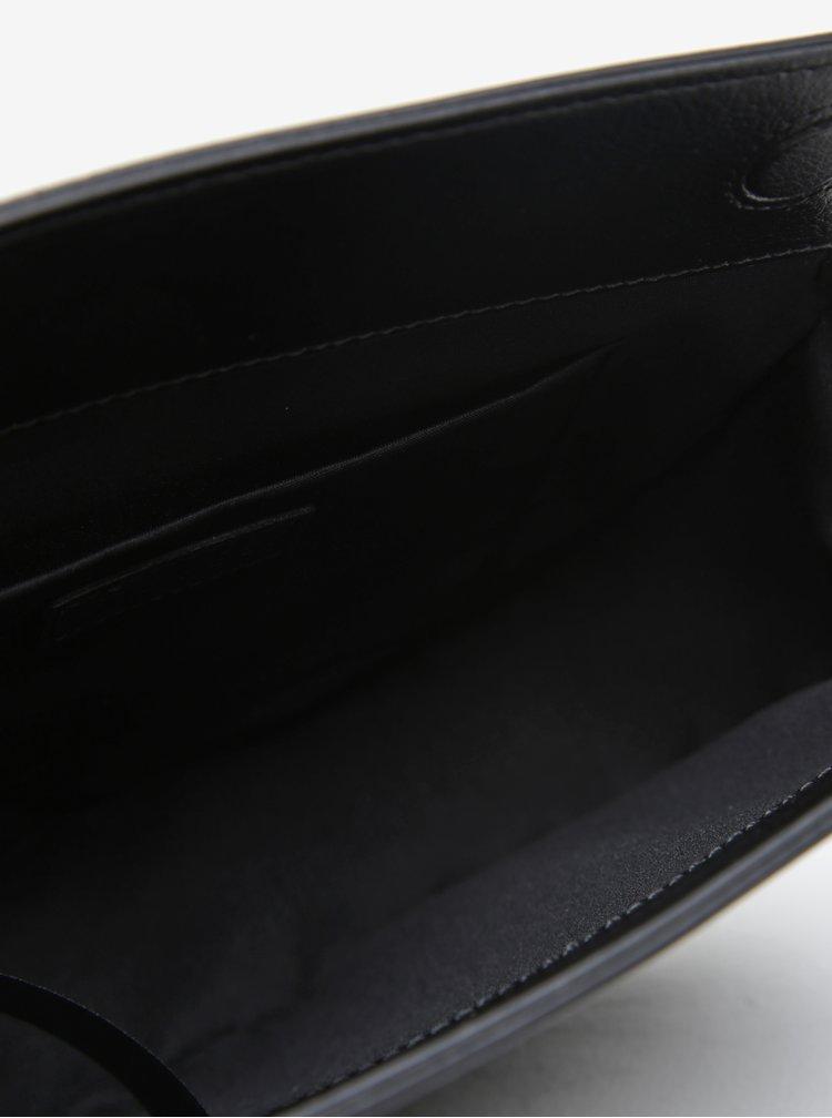 Černá crossbody kabelka Pieces Dana