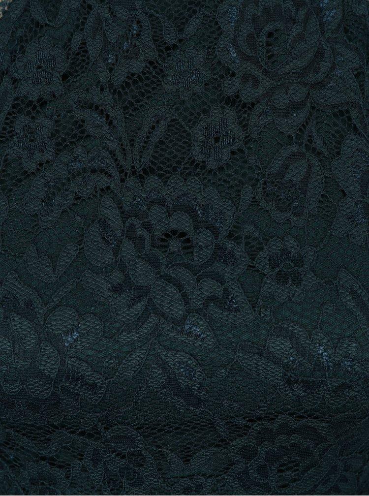 Rochie albastru petrol din dantela  AX Paris