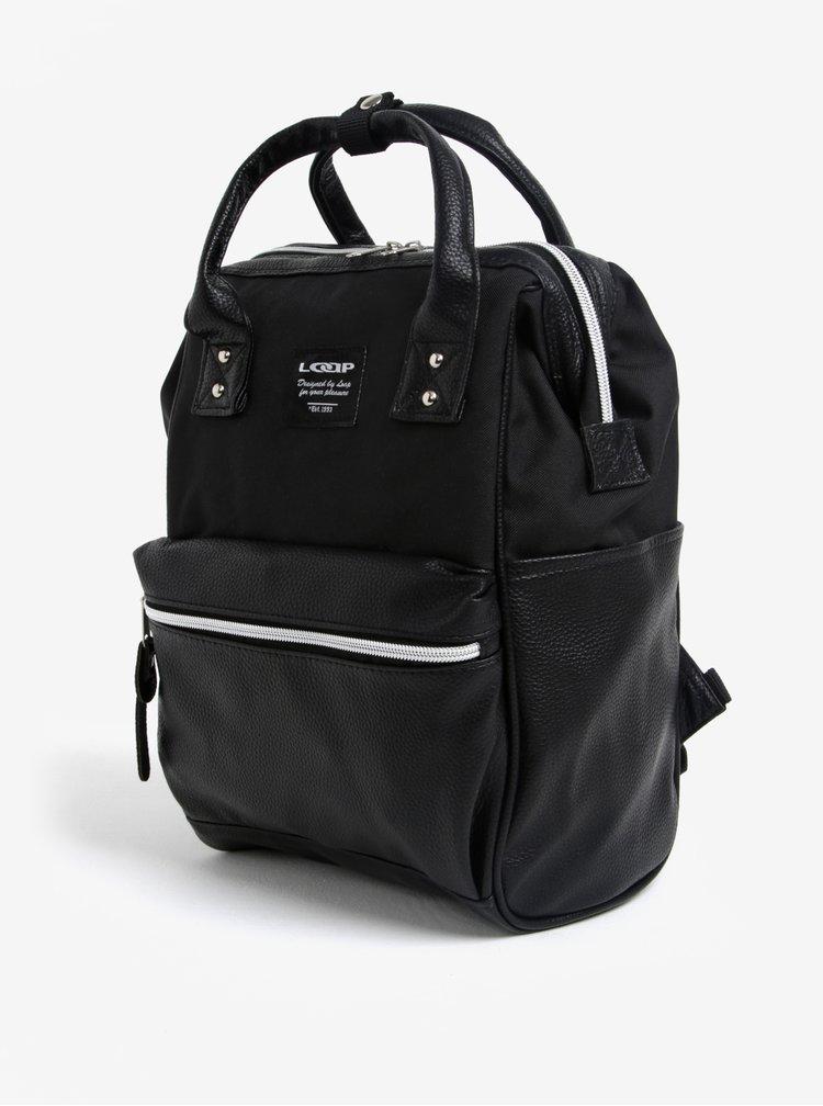 Černý elegantní batoh LOAP Gaudia
