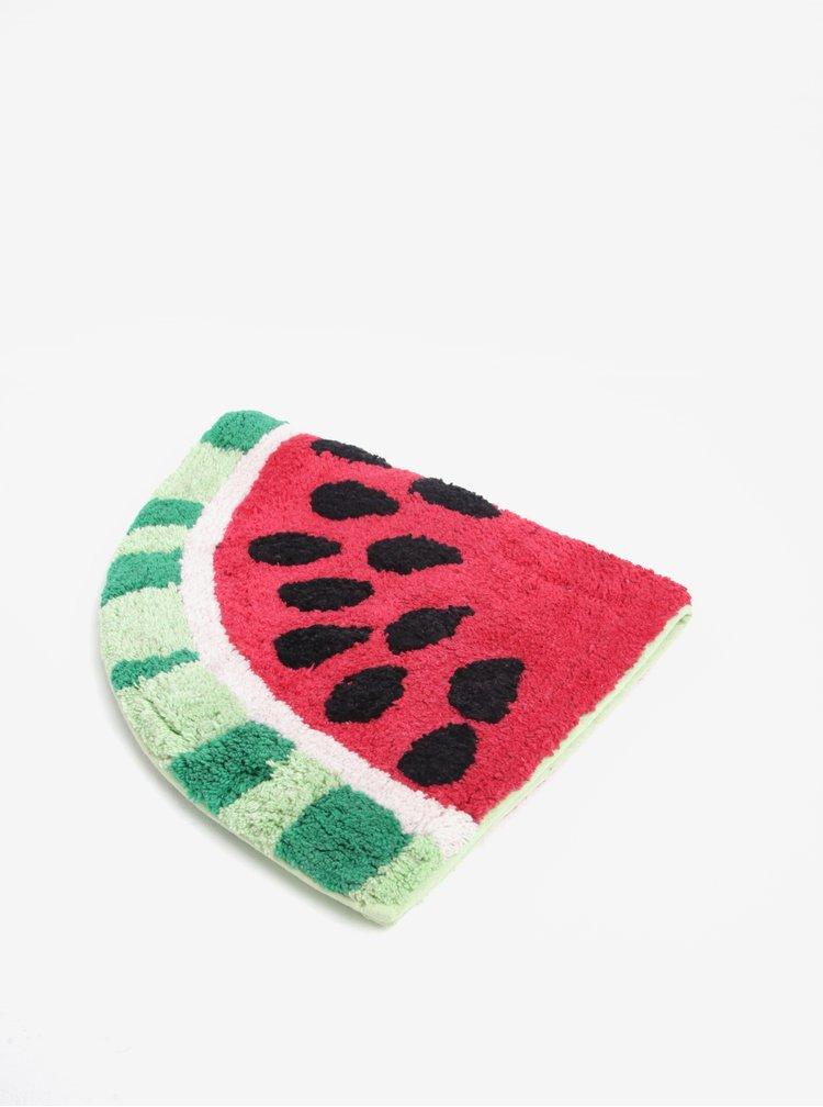 Červeno-zelená předložka ve tvaru melounu Sass & Belle