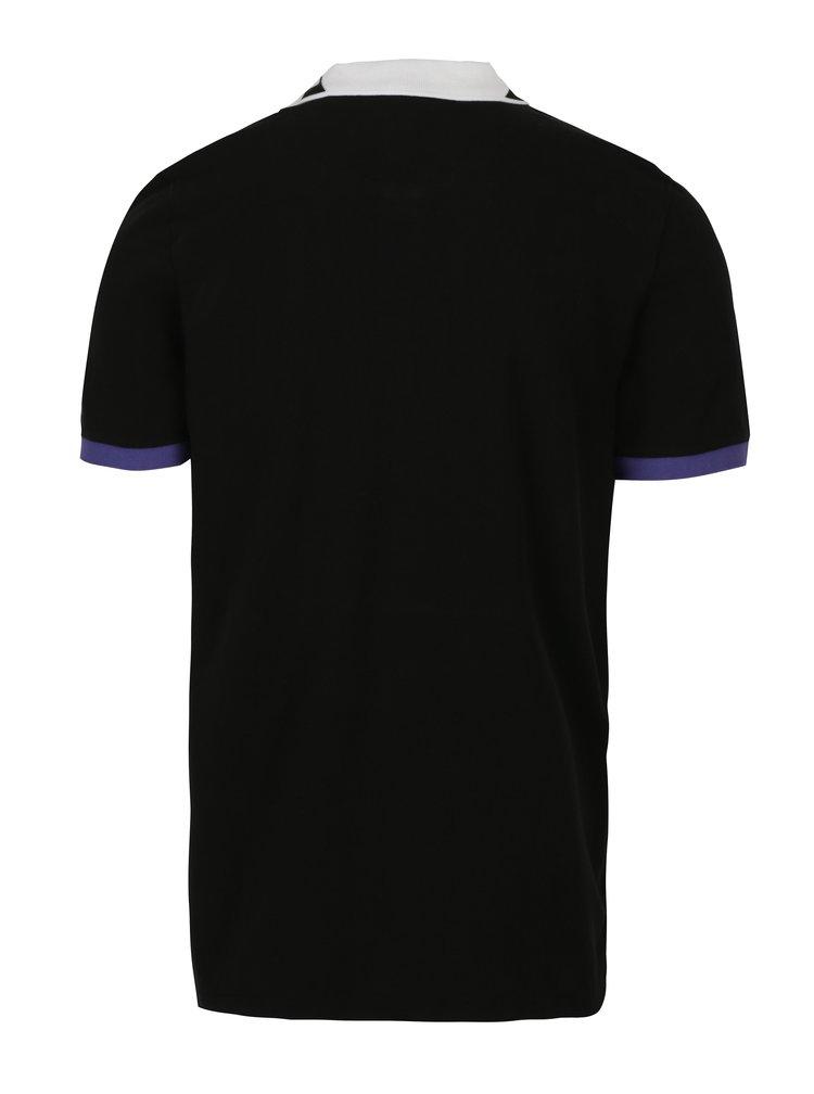 Černé pánské polo tričko Jimmy Sanders
