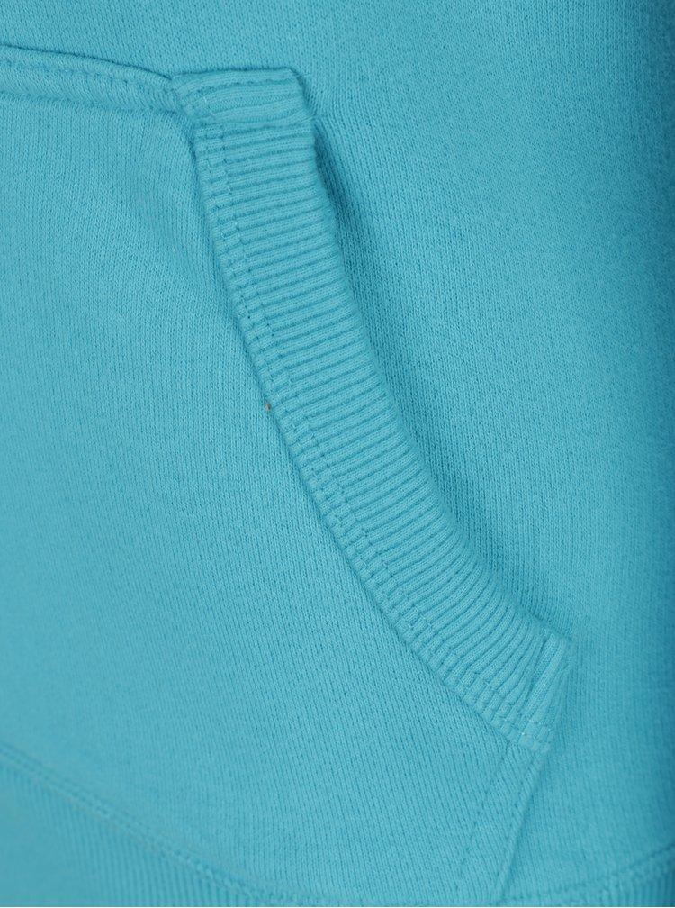 Modrá dámská žíhaná mikina Jimmy Sanders