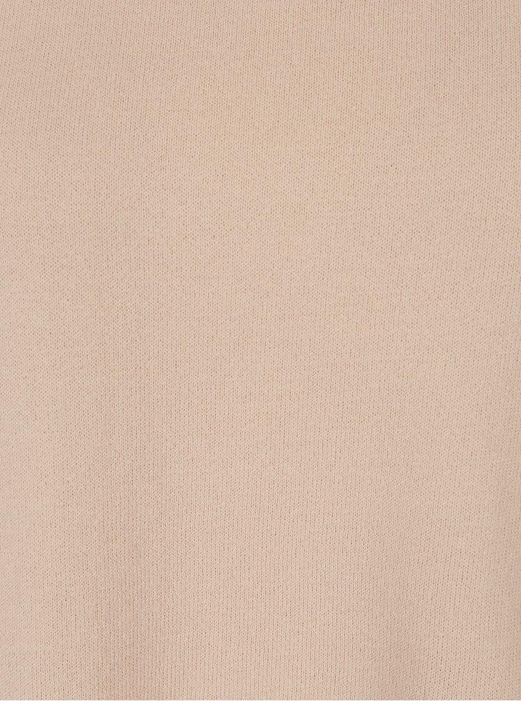 Světle růžový dámský lehký svetr Jimmy Sanders