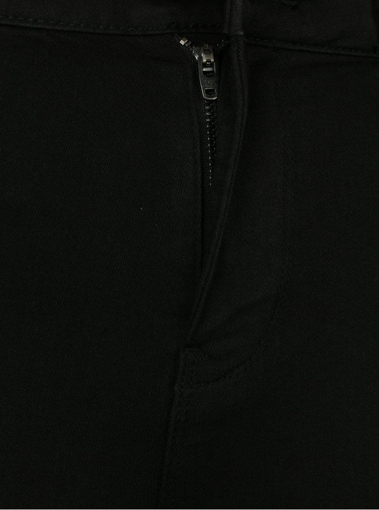 Blugi negri skinny cu talie inalta - Jacqueline de Yong