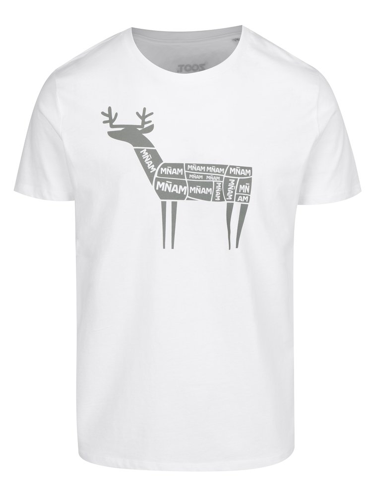 Bílé pánské tričko ZOOT Original Sob mnam