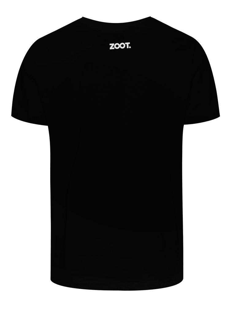 Černé pánské tričko ZOOT Original Sex drogy koledy