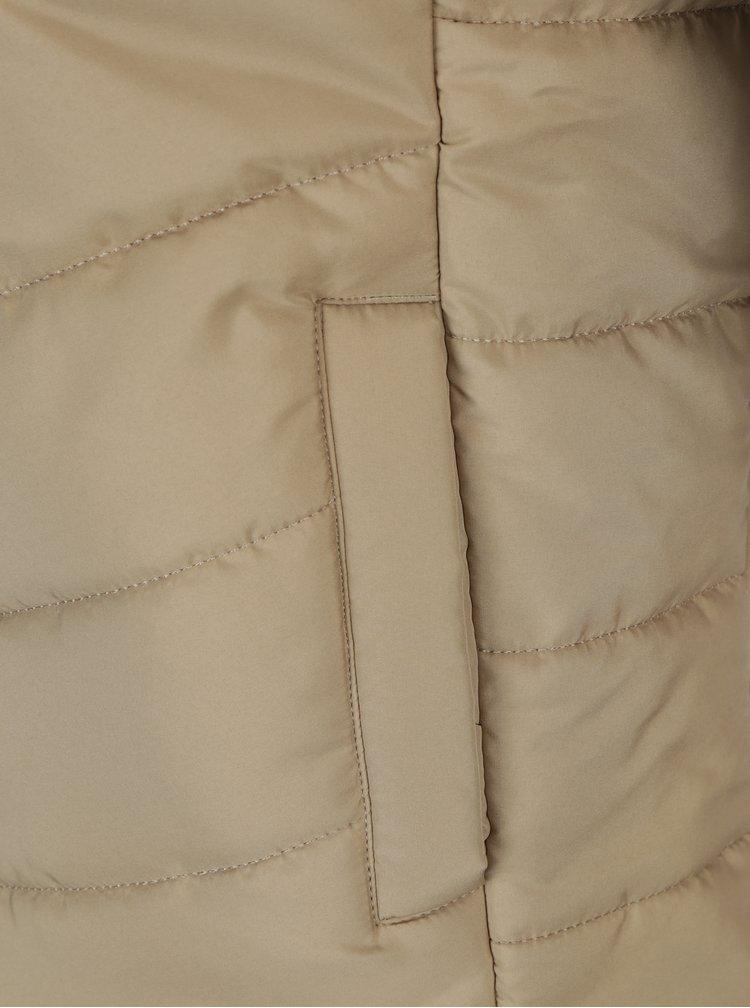 Béžová dámská prošívaná bunda Jimmy Sanders
