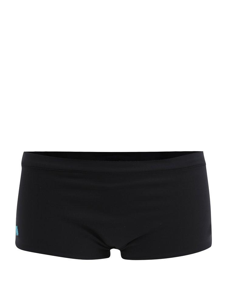 Černo-modré sportovní oboustranné kraťasy Mania fitness wear Twisted grip