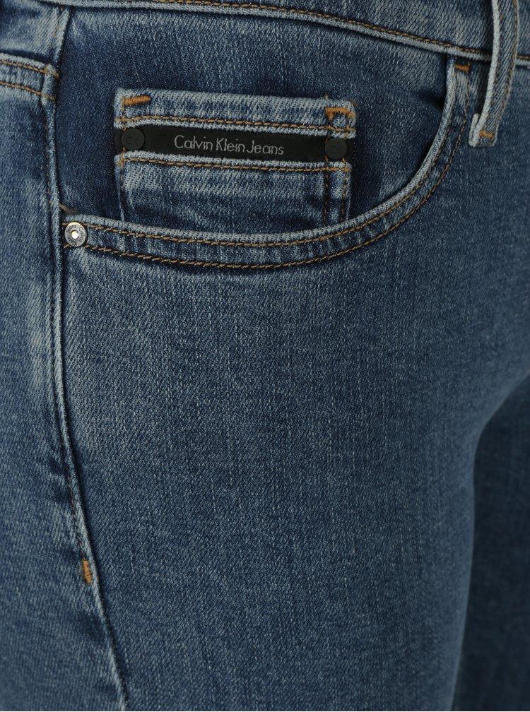 Modré dámské skinny džíny Calvin Klein Jeans Barkly
