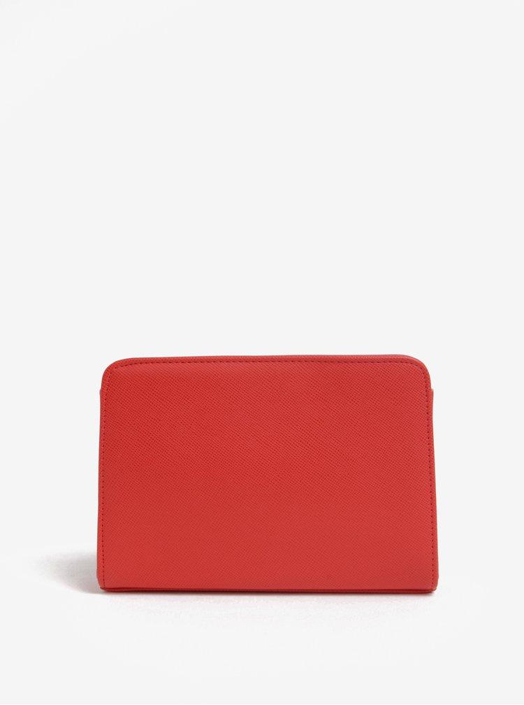 Červené psaníčko s detaily ve zlaté barvě Dorothy Perkins