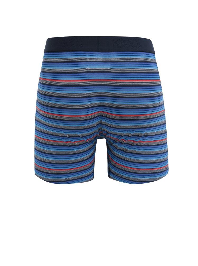 Sada dvou pánských boxerek v modré barvě SAXX Ultra Regular fit