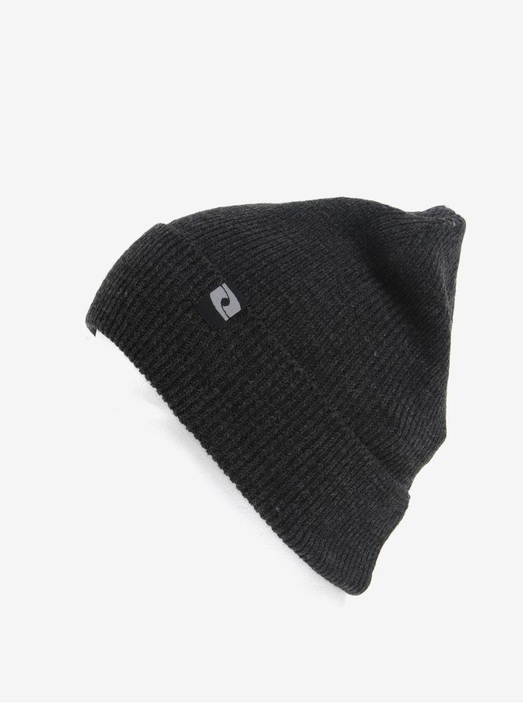 Caciula gri inchis tricotata pentru barbati LOAP Zach