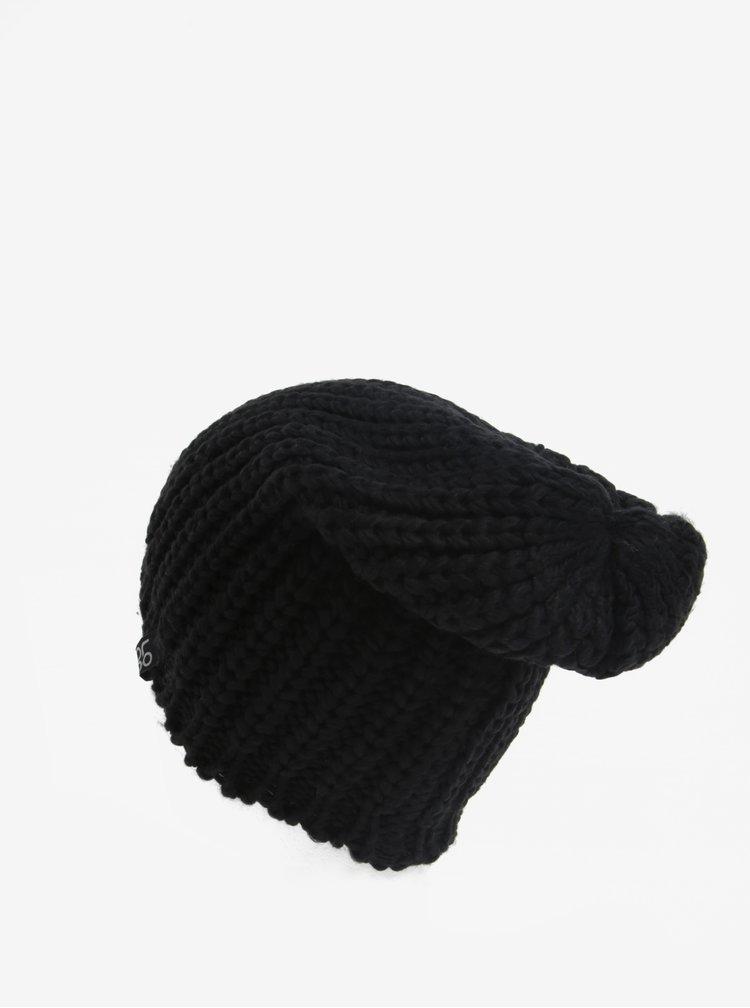 Caciula neagra tricotata pentru femei LOAP Zorico