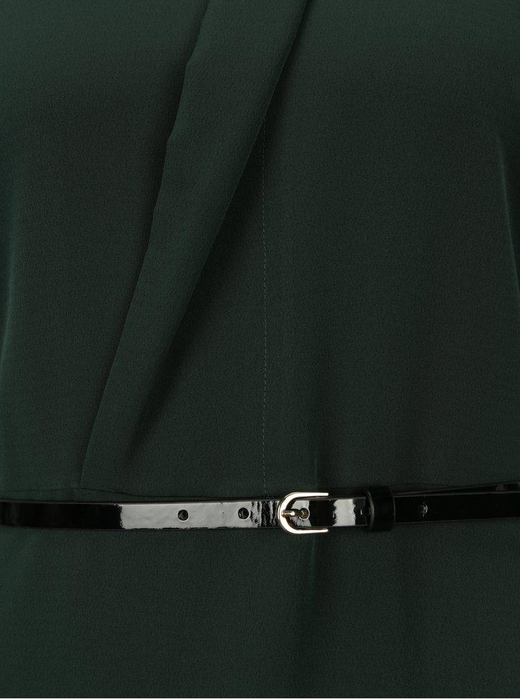 Tmavě zelené maxišaty s páskem Dorothy Perkins