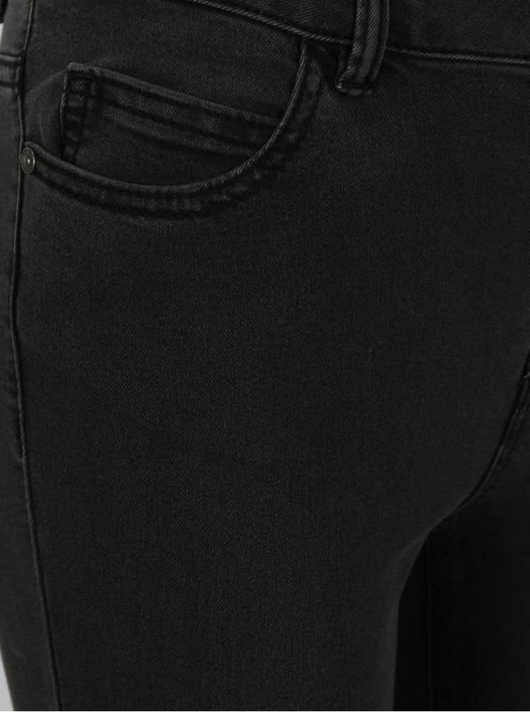 Tmavě šedé slim džíny Noisy May Lucy