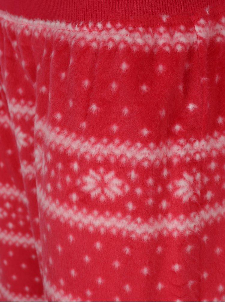 Krémovo-červené pyžamo s vánočním motivem Dorothy Perkins