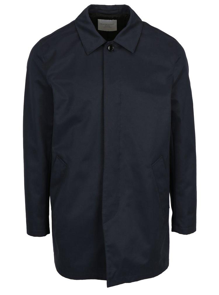 Tmavě modrý kabát Selected Homme French
