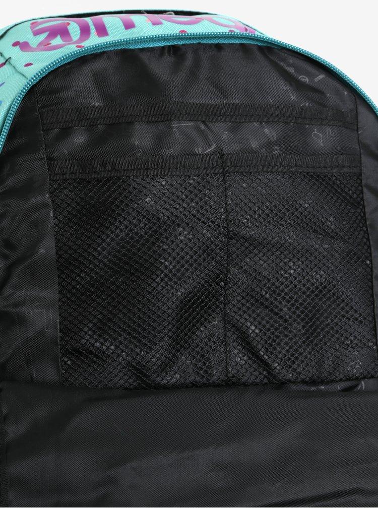 Zelený dámský vzorovaný batoh Meatfly Basejumper 3 20 l