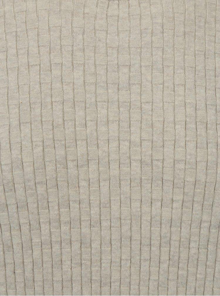 Béžový lehký svetr Burton Menswear London