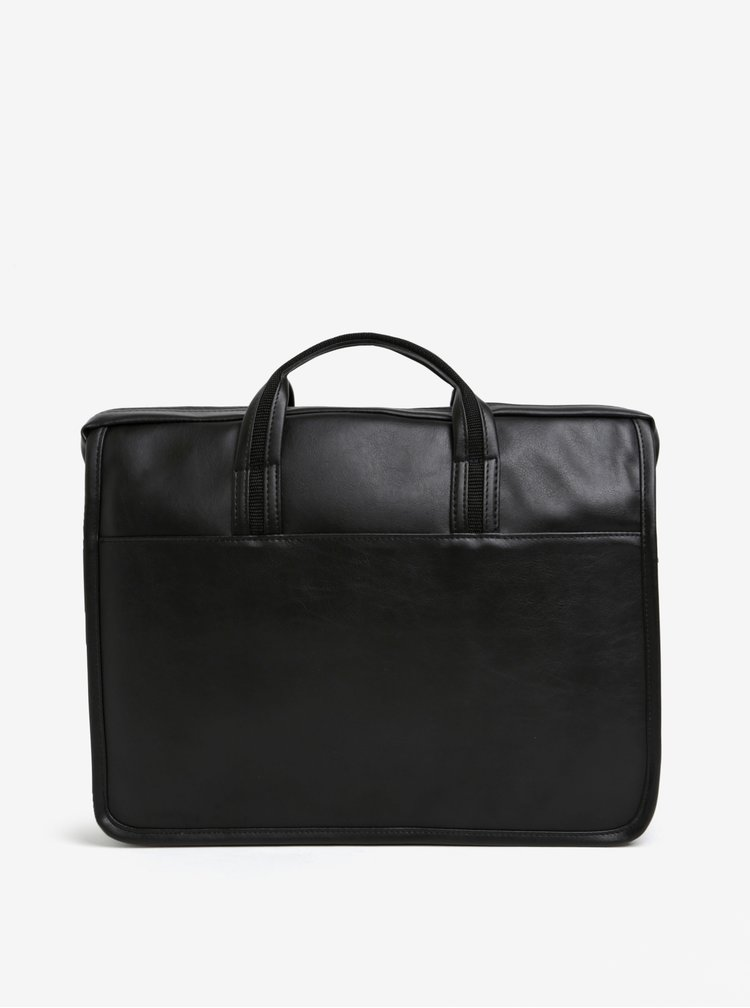 """Černá pánská taška na notebook Solier 15"""""""