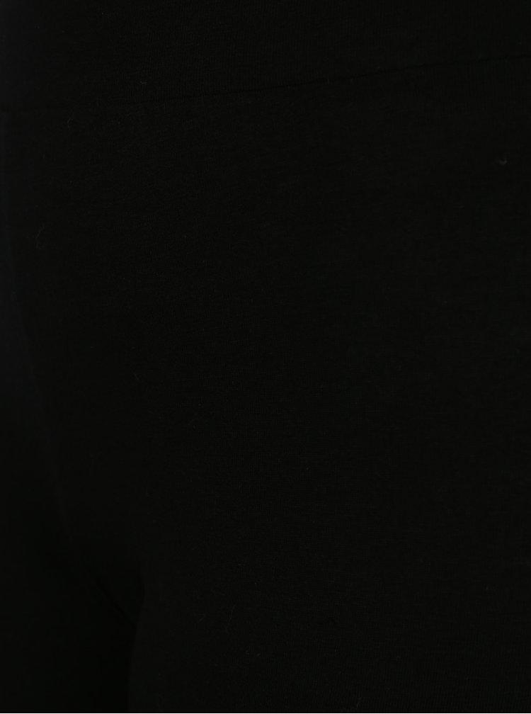 Černé vzorované legíny Desigual Parinari