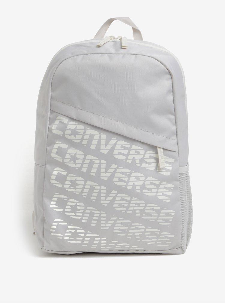 Krémový dámský batoh s potiskem Converse Speed 20 l