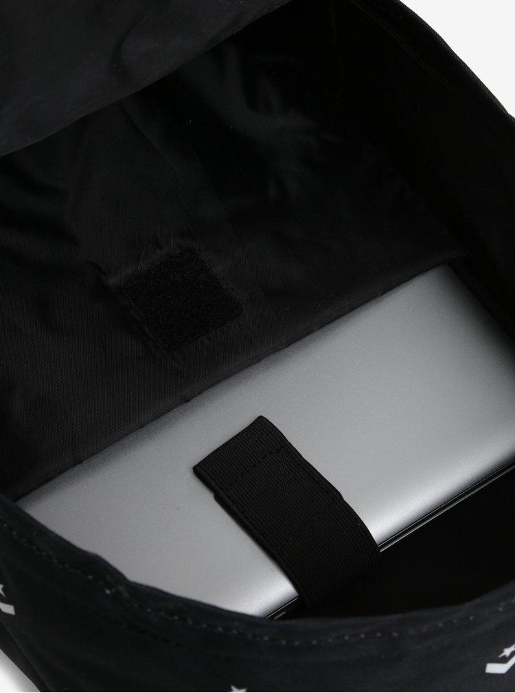 Černý batoh s potiskem Converse EDC Poly 19 l