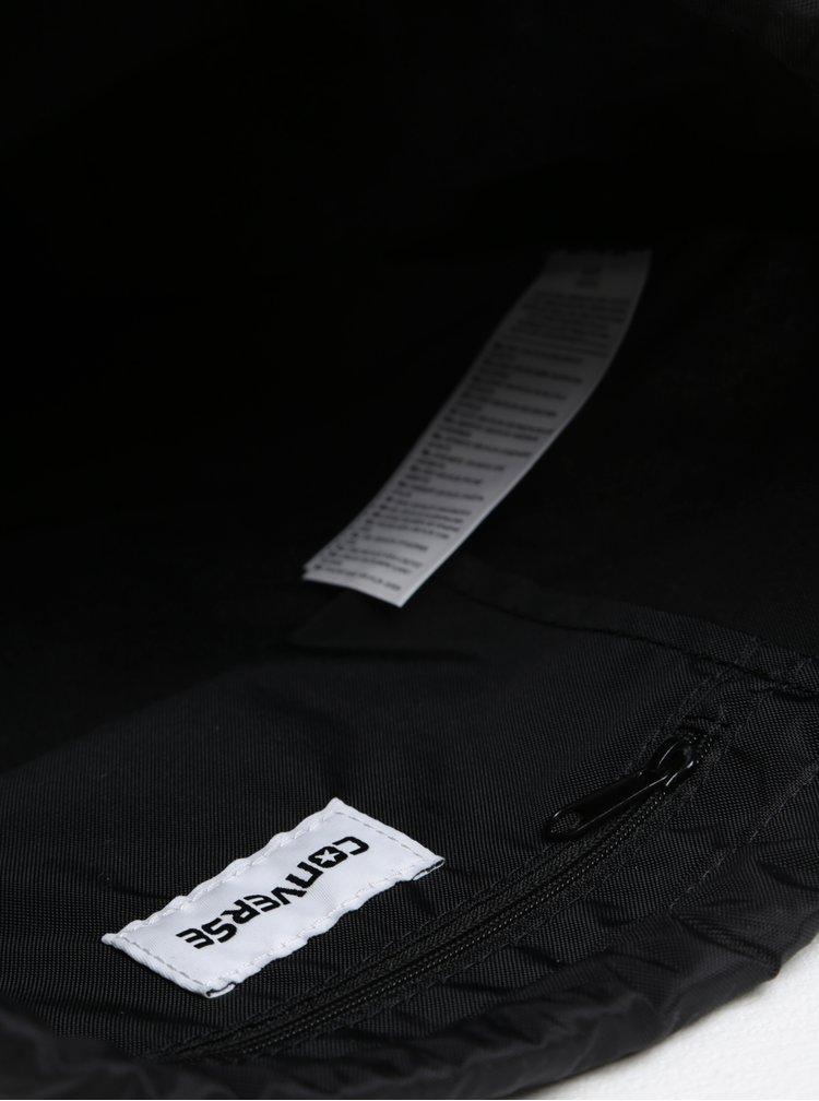 Rucsac unisex negru cu logo - Converse Cinch