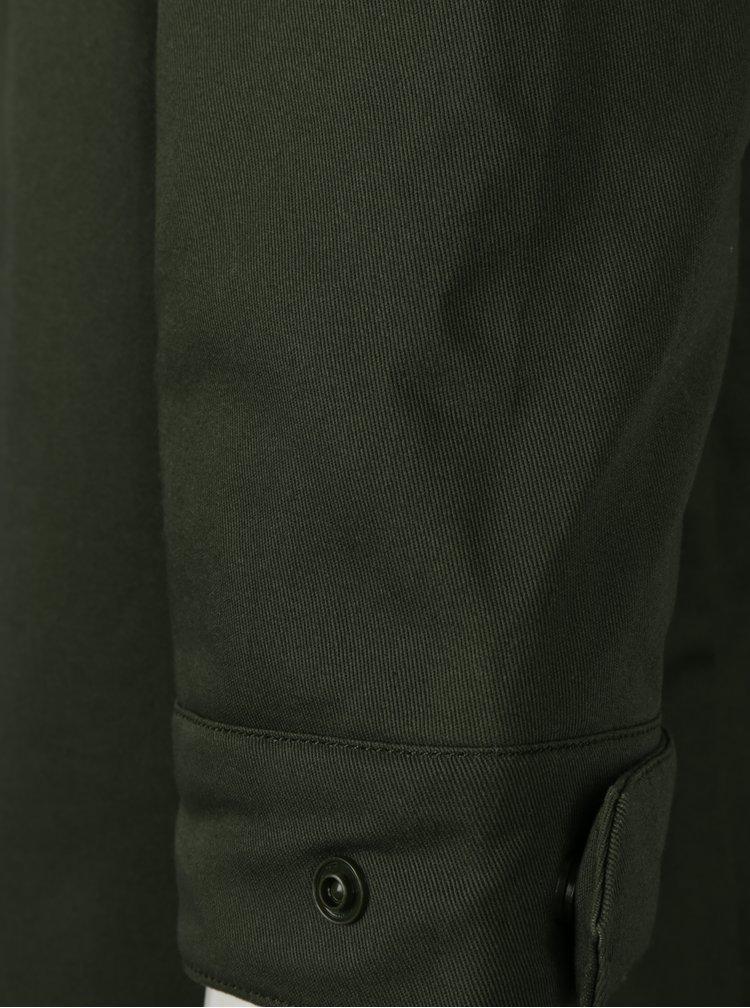 Khaki pánská parka s prošívanou bundou 2v1 adidas Originals
