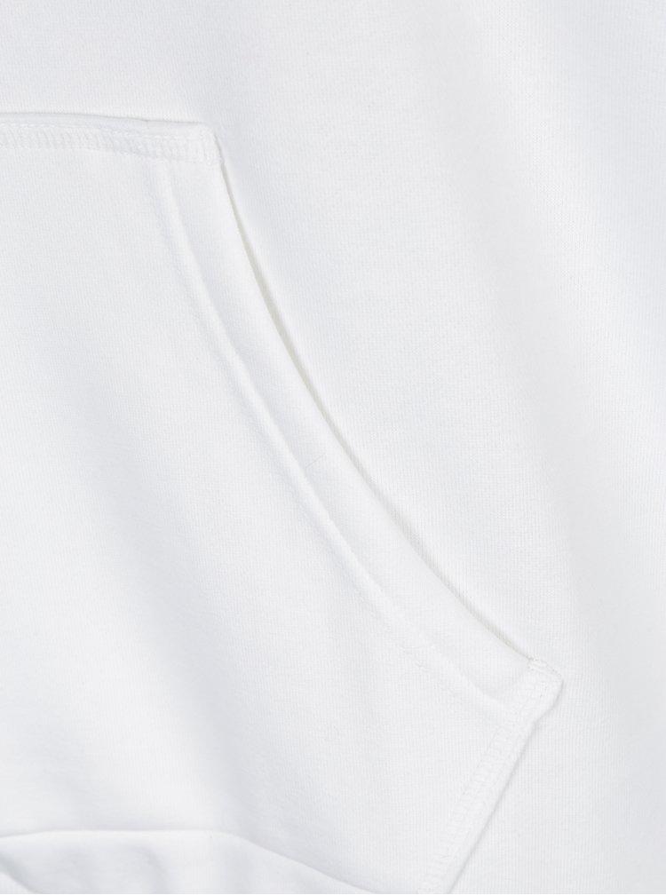 Bílá dámská mikina s kapucí adidas Originals