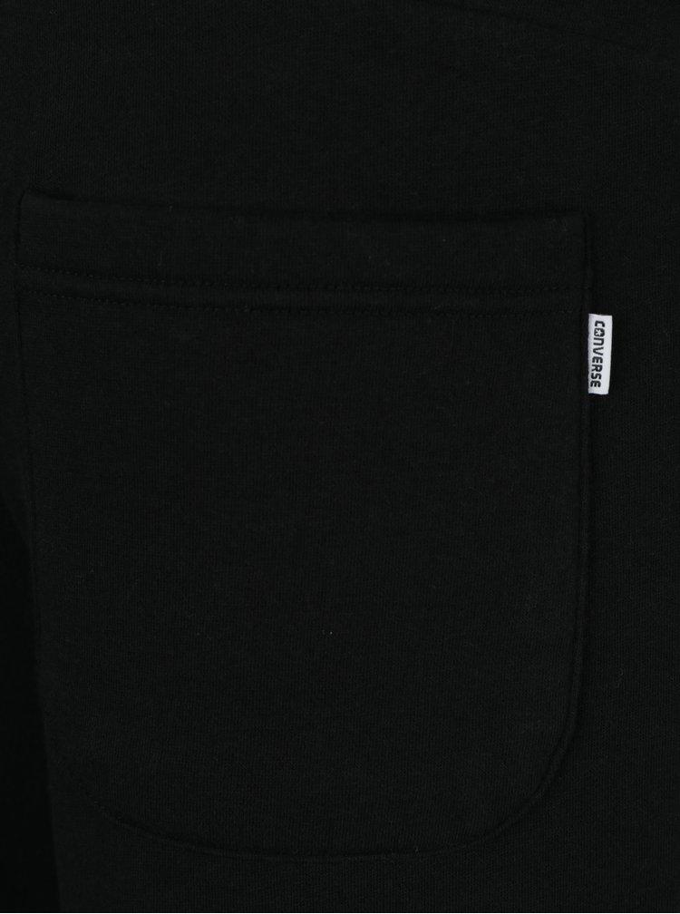Černé pánské tepláky s kapsami Converse Core