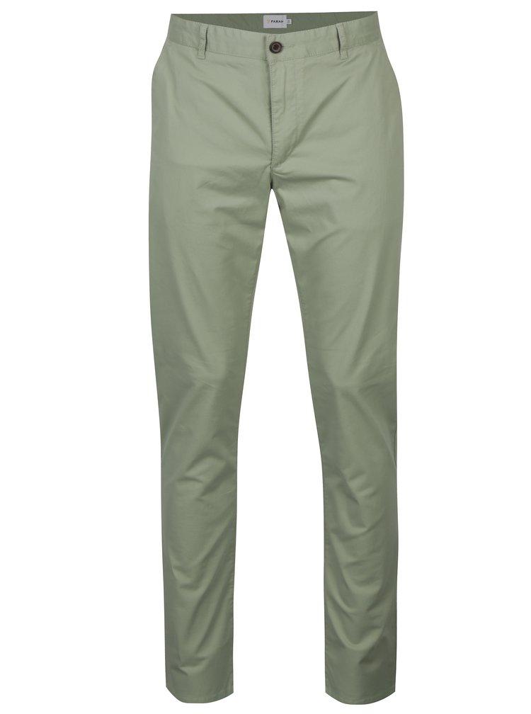 Pantaloni chino verde deschis - Farah Twill