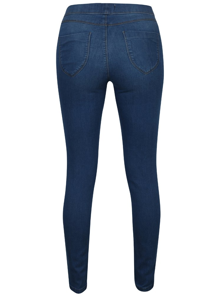 Modré regular jeggings Dorothy Perkins