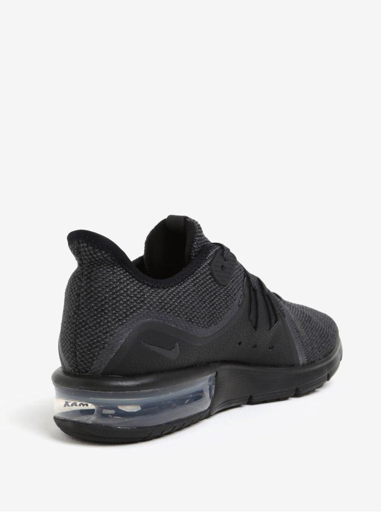 Černé pánské tenisky Nike Air Max Sequent 3 Running Shoe