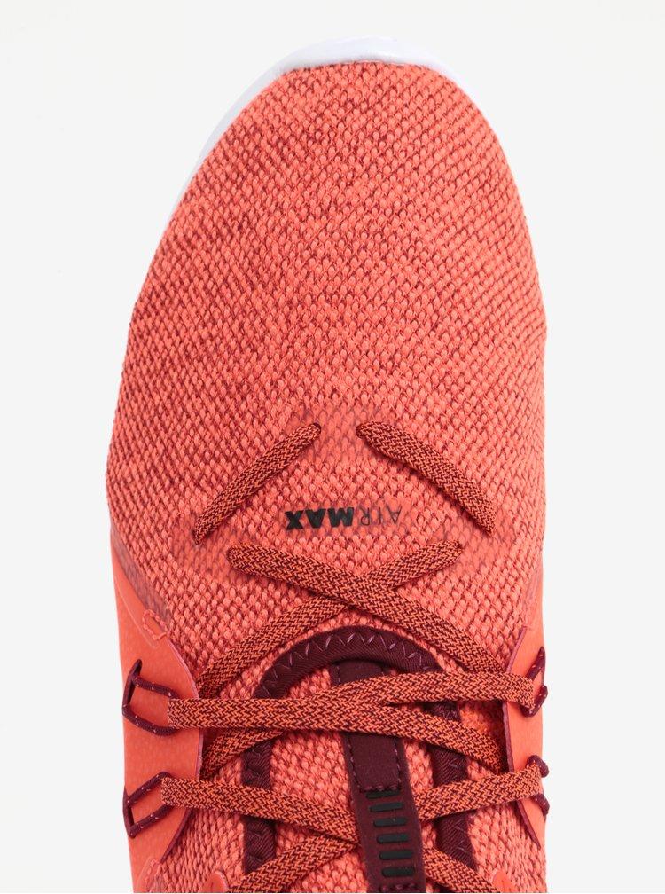 Pantofi sport portocaliu neon pentru barbati Nike Air Max Sequent 3 Running Shoe