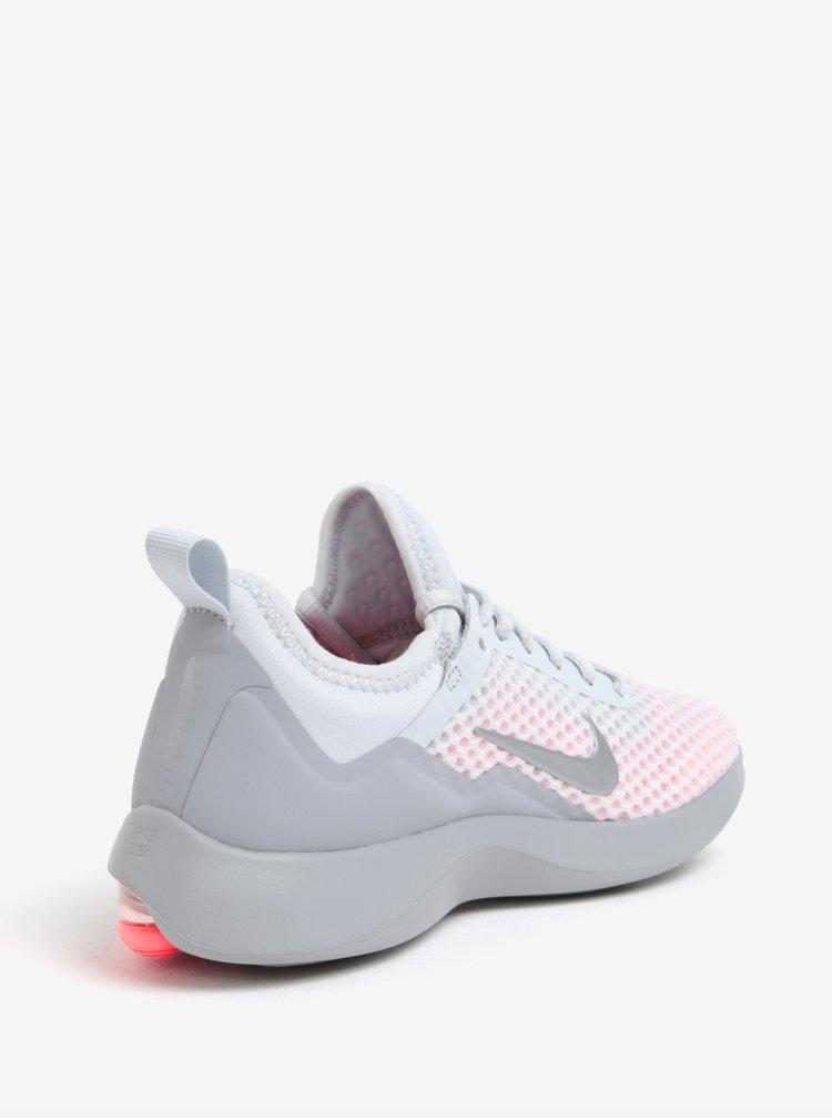 Růžovo-šedé dámské tenisky Nike Air Max Kantara Running