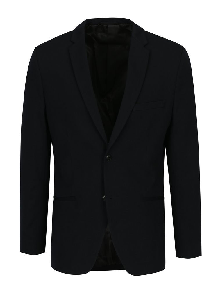 Tmavě modré sako Jack & Jones Premium Steven