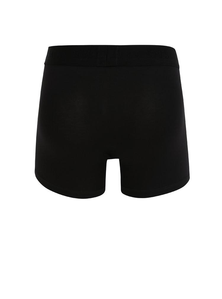 Čierne boxerky Jack & Jones Pima