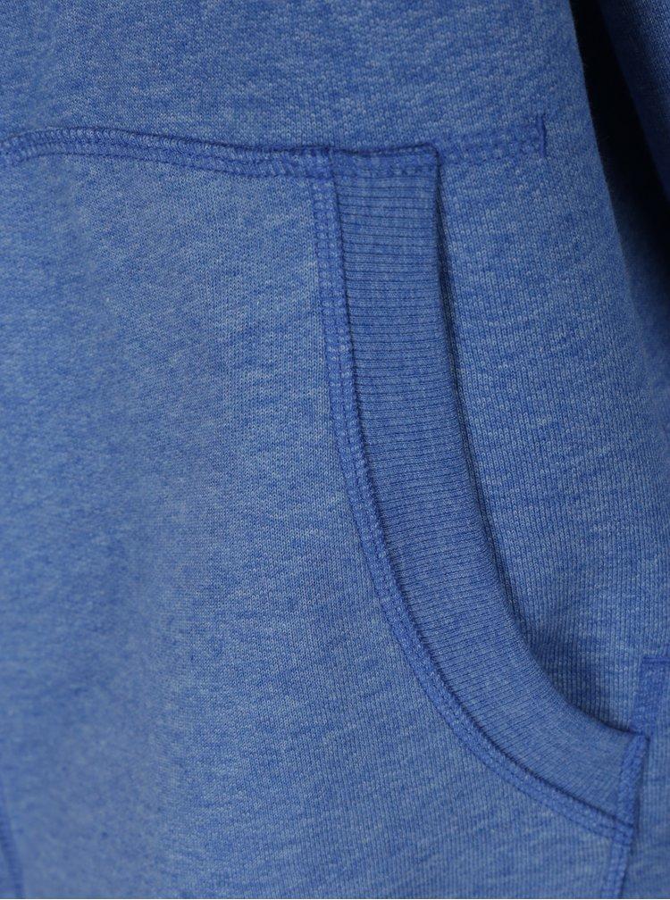 Modrá mikina s kapucí Jack & Jones Recycle