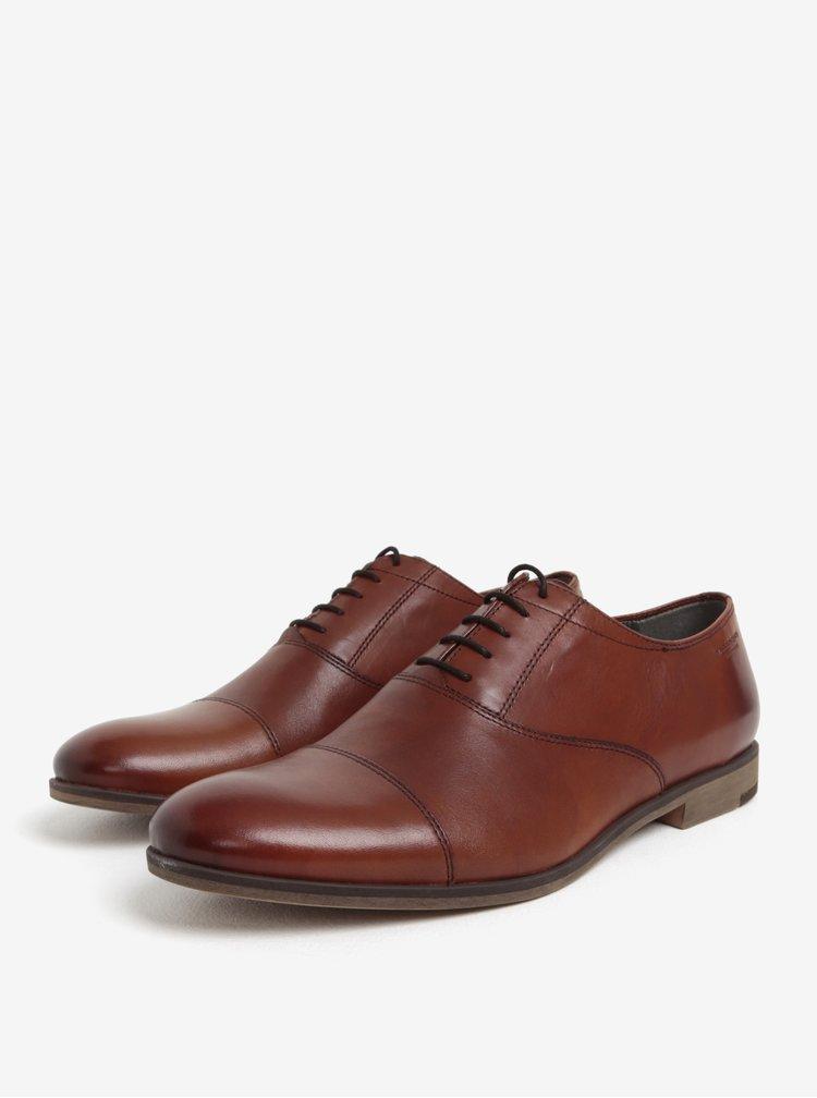 Pantofi maro din piele pentru barbati -  Vagabond Linhope