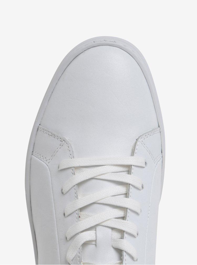 Bílé pánské kožené tenisky Vagabond Paul