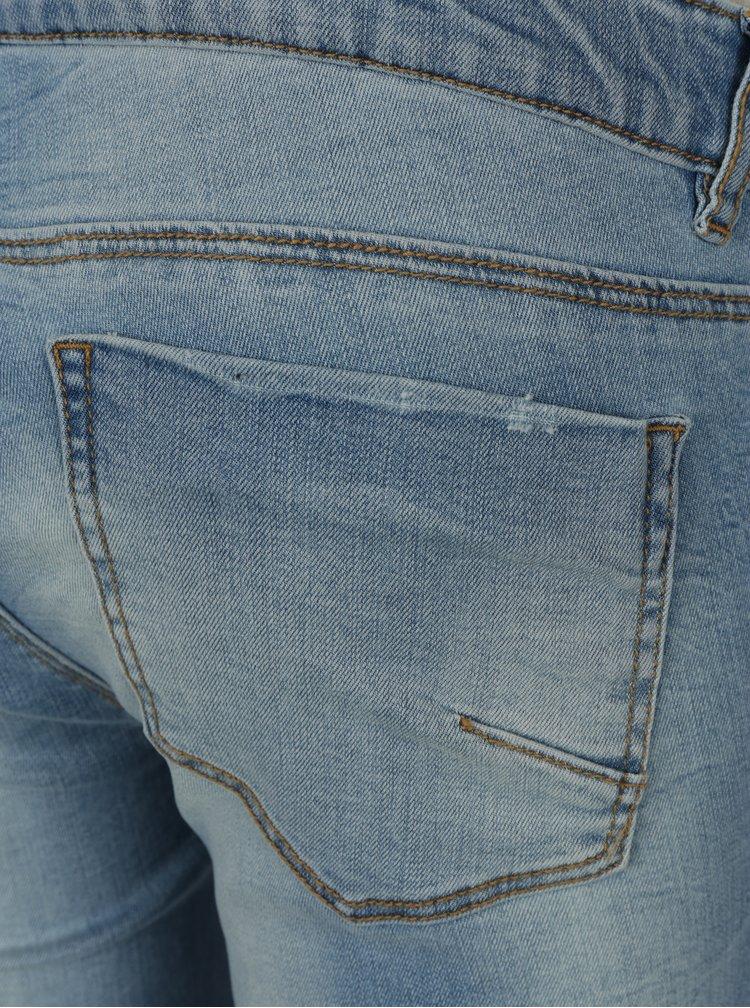 Světle modré těhotenské slim džíny Mama.licious Birdie