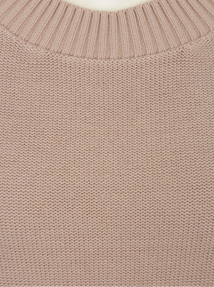 Starorůžový svetr Selected Femme Margarite