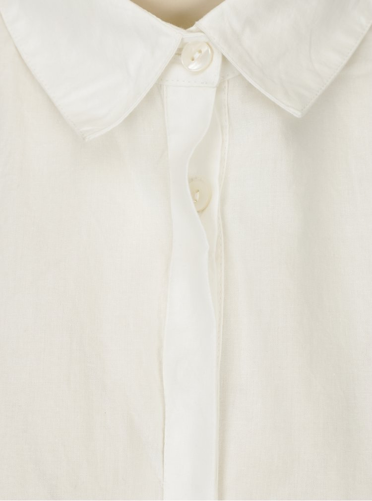 Krémová košile Selected Femme Noella