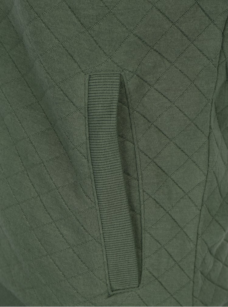 Jacheta bomber verde matlasata - ONLY Joyce