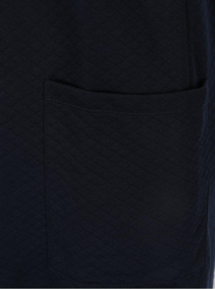 Tmavě modrý vzorovaný kardigan ONLY Joyce