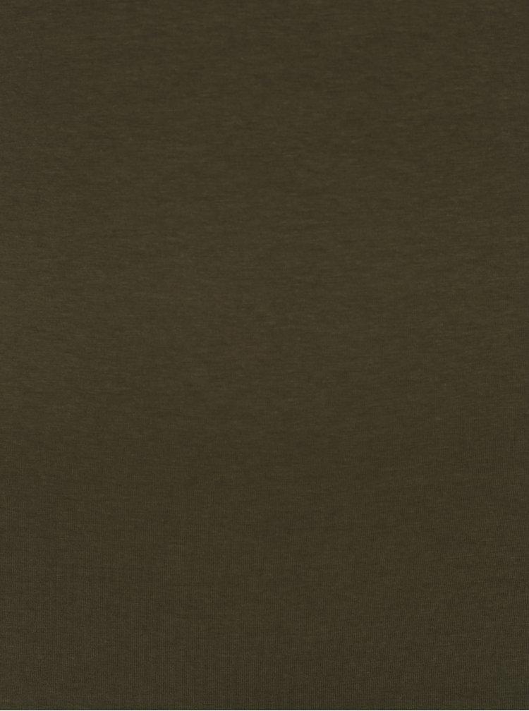 Khaki tílko Jacqueline de Yong Yava