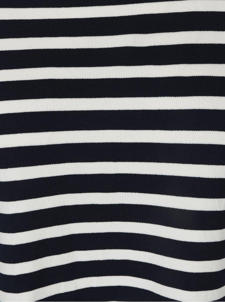 Bílo-modrý pruhovaný lehký svetr ONLY Suzana